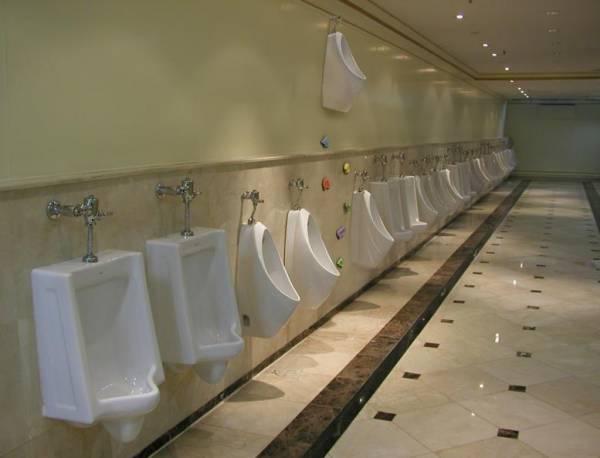 دستشویی سرپایی !